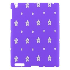 Light Purple Flowers Background Images Apple Ipad 3/4 Hardshell Case by Alisyart