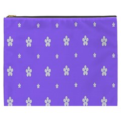 Light Purple Flowers Background Images Cosmetic Bag (xxxl)