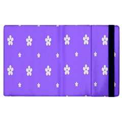 Light Purple Flowers Background Images Apple Ipad 2 Flip Case