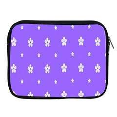 Light Purple Flowers Background Images Apple Ipad 2/3/4 Zipper Cases by Alisyart