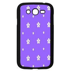 Light Purple Flowers Background Images Samsung Galaxy Grand Duos I9082 Case (black) by Alisyart