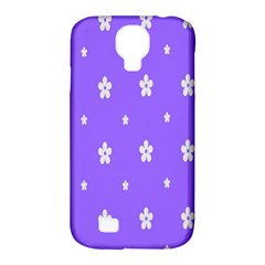 Light Purple Flowers Background Images Samsung Galaxy S4 Classic Hardshell Case (pc+silicone) by Alisyart