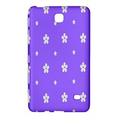 Light Purple Flowers Background Images Samsung Galaxy Tab 4 (7 ) Hardshell Case  by Alisyart