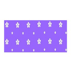 Light Purple Flowers Background Images Satin Wrap by Alisyart