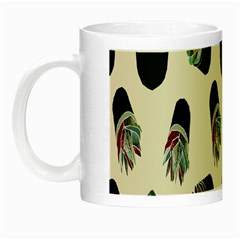 Succulent Plants Pattern Lights Night Luminous Mugs by Simbadda