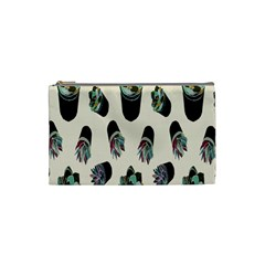 Succulent Plants Pattern Lights Cosmetic Bag (small)  by Simbadda