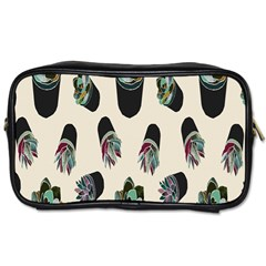 Succulent Plants Pattern Lights Toiletries Bags by Simbadda