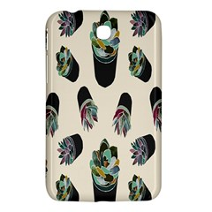 Succulent Plants Pattern Lights Samsung Galaxy Tab 3 (7 ) P3200 Hardshell Case  by Simbadda