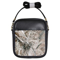 Earth Landscape Aerial View Nature Girls Sling Bags by Simbadda