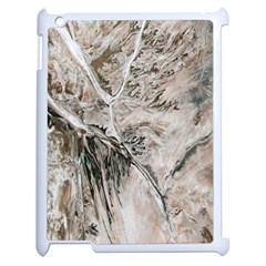 Earth Landscape Aerial View Nature Apple Ipad 2 Case (white) by Simbadda