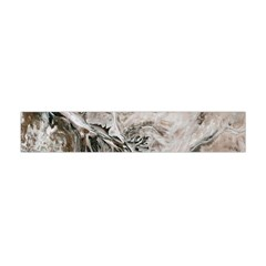 Earth Landscape Aerial View Nature Flano Scarf (mini) by Simbadda