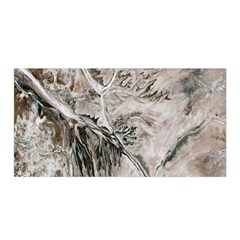 Earth Landscape Aerial View Nature Satin Wrap