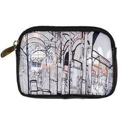 Cityscapes England London Europe United Kingdom Artwork Drawings Traditional Art Digital Camera Cases by Simbadda