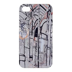 Cityscapes England London Europe United Kingdom Artwork Drawings Traditional Art Apple Iphone 4/4s Premium Hardshell Case