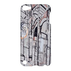 Cityscapes England London Europe United Kingdom Artwork Drawings Traditional Art Apple Ipod Touch 5 Hardshell Case by Simbadda
