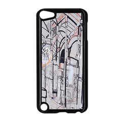 Cityscapes England London Europe United Kingdom Artwork Drawings Traditional Art Apple Ipod Touch 5 Case (black) by Simbadda