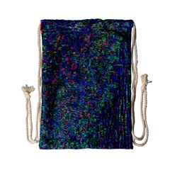 Glitch Art Drawstring Bag (small) by Simbadda