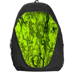 Concept Art Spider Digital Art Green Backpack Bag