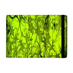Concept Art Spider Digital Art Green Apple Ipad Mini Flip Case by Simbadda