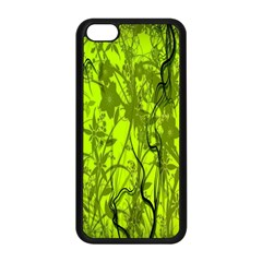 Concept Art Spider Digital Art Green Apple Iphone 5c Seamless Case (black) by Simbadda