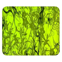 Concept Art Spider Digital Art Green Double Sided Flano Blanket (small)  by Simbadda