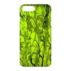 Concept Art Spider Digital Art Green Apple Iphone 7 Plus Hardshell Case by Simbadda