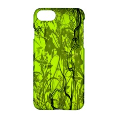 Concept Art Spider Digital Art Green Apple Iphone 7 Hardshell Case by Simbadda