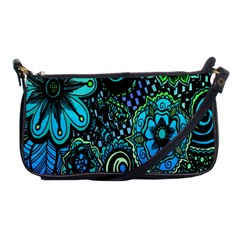 Sun Set Floral Shoulder Clutch Bags by Simbadda
