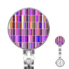 Plasma Gradient Gradation Stainless Steel Nurses Watch by Simbadda