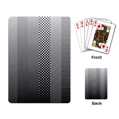 Semi Authentic Screen Tone Gradient Pack Playing Card by Simbadda