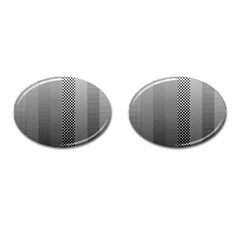 Semi Authentic Screen Tone Gradient Pack Cufflinks (oval) by Simbadda