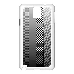 Semi Authentic Screen Tone Gradient Pack Samsung Galaxy Note 3 N9005 Case (white) by Simbadda