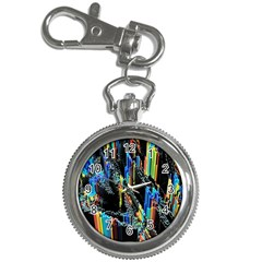 Abstract 3d Blender Colorful Key Chain Watches