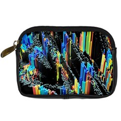 Abstract 3d Blender Colorful Digital Camera Cases by Simbadda