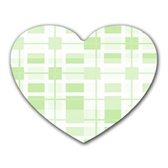 Pattern Heart Mousepads