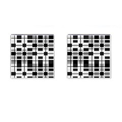 Pattern Cufflinks (square) by Valentinaart
