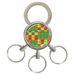 Pattern 3 Ring Key Chains by Valentinaart
