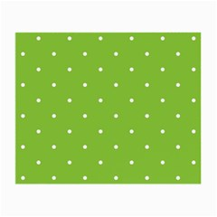 Mages Pinterest Green White Polka Dots Crafting Circle Small Glasses Cloth