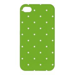 Mages Pinterest Green White Polka Dots Crafting Circle Apple Iphone 4/4s Hardshell Case by Alisyart