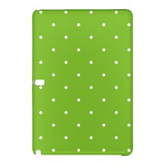 Mages Pinterest Green White Polka Dots Crafting Circle Samsung Galaxy Tab Pro 12 2 Hardshell Case