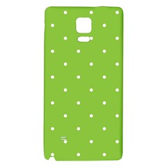 Mages Pinterest Green White Polka Dots Crafting Circle Galaxy Note 4 Back Case