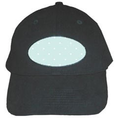 Mages Pinterest White Blue Polka Dots Crafting  Circle Black Cap