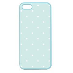 Mages Pinterest White Blue Polka Dots Crafting  Circle Apple Seamless Iphone 5 Case (color) by Alisyart