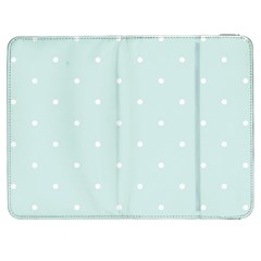 Mages Pinterest White Blue Polka Dots Crafting  Circle Samsung Galaxy Tab 7  P1000 Flip Case