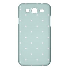 Mages Pinterest White Blue Polka Dots Crafting  Circle Samsung Galaxy Mega 5 8 I9152 Hardshell Case