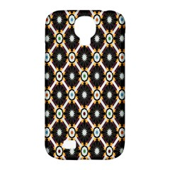 Flower Floral Line Star Sunflower Samsung Galaxy S4 Classic Hardshell Case (pc+silicone)