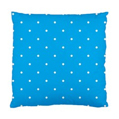 Mages Pinterest White Blue Polka Dots Crafting Circle Standard Cushion Case (one Side) by Alisyart