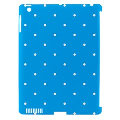 Mages Pinterest White Blue Polka Dots Crafting Circle Apple Ipad 3/4 Hardshell Case (compatible With Smart Cover) by Alisyart