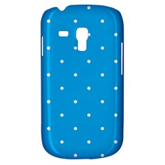 Mages Pinterest White Blue Polka Dots Crafting Circle Galaxy S3 Mini