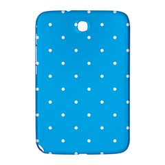 Mages Pinterest White Blue Polka Dots Crafting Circle Samsung Galaxy Note 8 0 N5100 Hardshell Case  by Alisyart